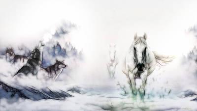 Digital Art - Call Of The Wild 498 by Ericamaxine Price