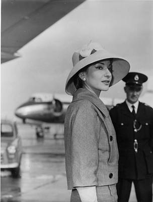 Photograph - Callas At Heathrow by R. Powell