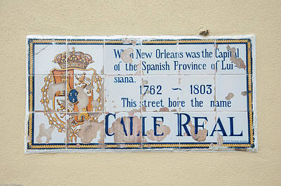 Vintage College Subway Signs Color - Calle Real Wall Tile by Terry Thibeau