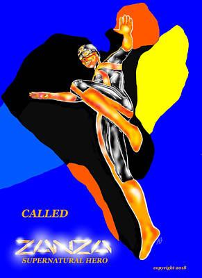 Comics Mixed Media - Called by Benny Jones Jr