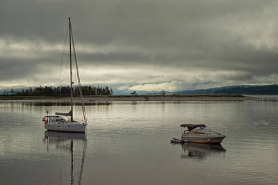Photograph - Calm Before A Storm by Randy Hall