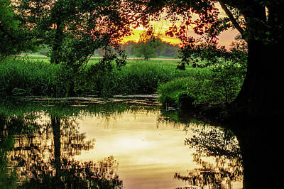 Photograph - Calm In The Evening In The Spreewald by Sun Travels