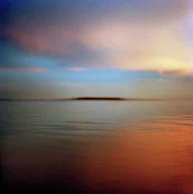 Photograph - Calm Sea At Sunset by Roy Mehta
