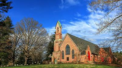 Photograph - Calvary Episcopal Church Fletcher North Carolina by Carol Montoya