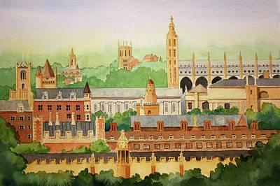 Painting - Cambridge Uk by William Renzulli