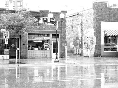 Vintage Pink Cadillac - CAMDI Restaurant by Curtis Tilleraas