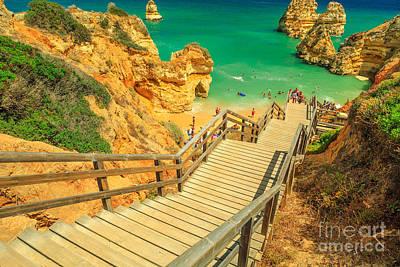 Photograph - Camilo Beach Algarve by Benny Marty