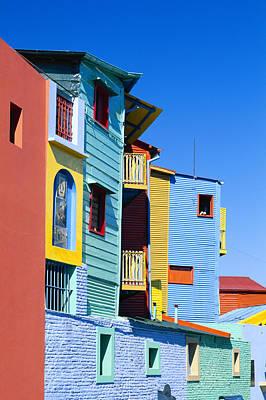 Caminitas La Boca District, Buenos Art Print by Brand X Pictures