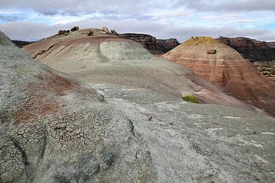 Photograph - Camp Road Ancient Volcanoes In Grand Junction Co by Ray Mathis