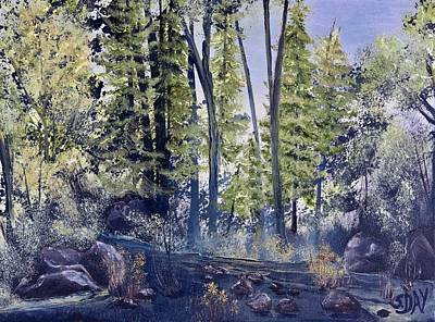 Painting - Camp Trail by Sandra Day