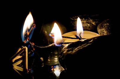 Photograph - Campfire by Mila Vasileva