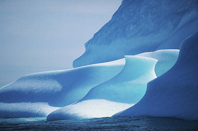 Photograph - Canada, Labrador Sea, Icebergs, Close-up by Eastcott Momatiuk