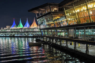 Photograph - Canada Place And The Convention Centre by Ross G Strachan