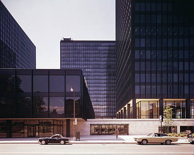 Exterior Photograph - Canadian Buildings Designed By Mies Van by Chicago History Museum
