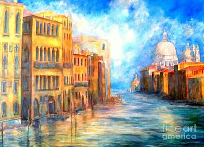 Painting - Canale Grande by Dagmar Helbig