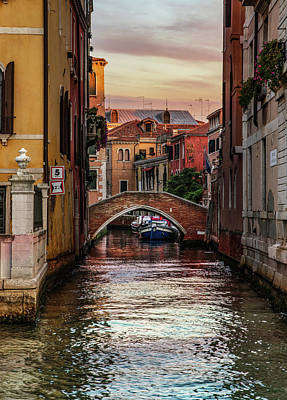 Photograph - Canals Of Venice by Jaroslaw Blaminsky