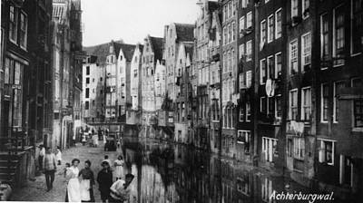 Canalside Houses Art Print by Hulton Archive