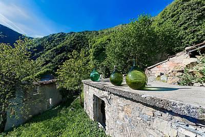 Photograph - Canate Di Marsiglia Abandoned Place Lungo L'alta Via Dei Monti Liguri by Enrico Pelos