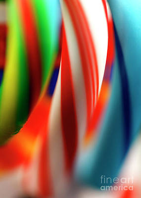 Photograph - Candy Cane Stripes by John Rizzuto