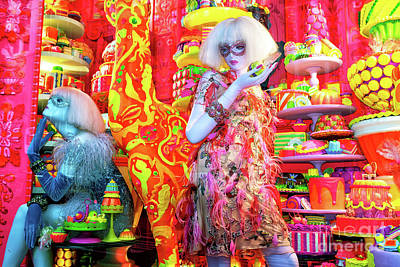 Photograph - Candy Dreams At Bergdorf Goodman New York City by John Rizzuto