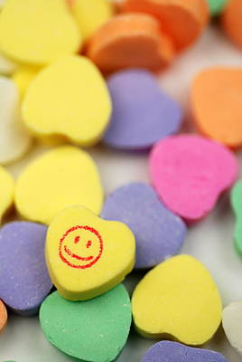 Photograph - Candy Hearts by Jonathan D. Pobre