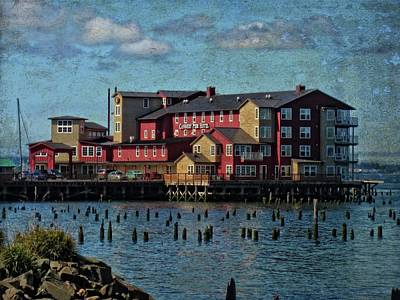 Photograph - Cannery Pier Hotel by Thom Zehrfeld
