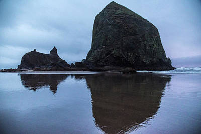 Photograph - Cannon Beach Gloom by Kristopher Schoenleber