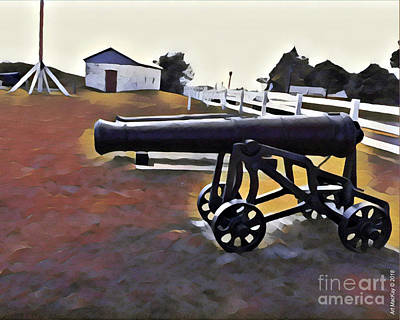 Photograph - Cannon - Victoria Park Pei by Art MacKay