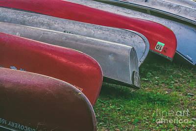 Photograph - Canoes by Sheila Skogen