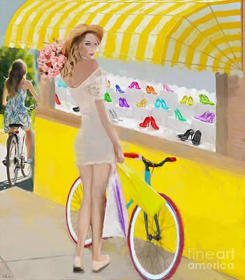 Painting - Eye Candy by Debra Chmelina