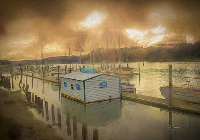 Photograph - Canvas Port by Bill Posner