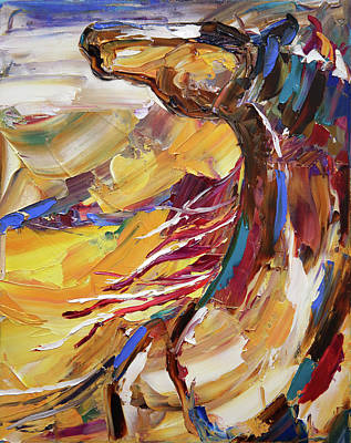 Painting - Canyon Call by Laurie Pace