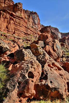 Thomas Kinkade Royalty Free Images - Canyon Walls along the Colorado River Royalty-Free Image by Ray Mathis