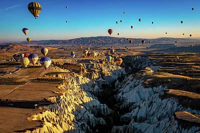 Photograph - Capadoccia by Francisco Gomez