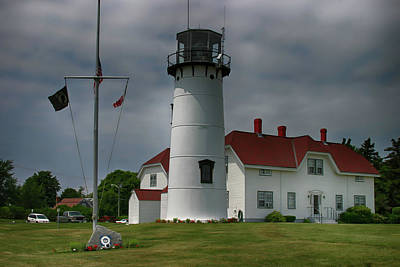 Photograph - Cape Cod Lighthouse by Jeff Folger