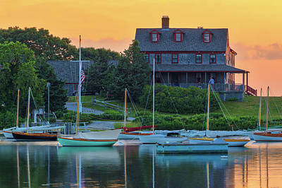 Photograph - Cape Cod Quissett Yacht Club by Juergen Roth