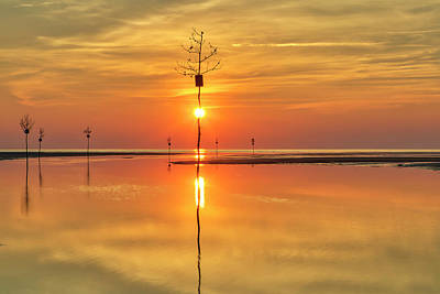 Photograph - Cape Cod Sunburst by Juergen Roth