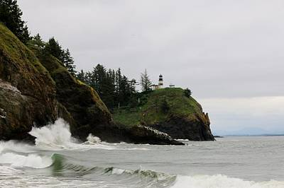 Photograph - Cape Disappointment Lighthouse - 2 by Christy Pooschke