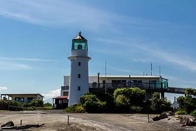 Photograph - Cape Edgemont Lighthouse, Taranaki Region,north Island, New Zeal by David Butler