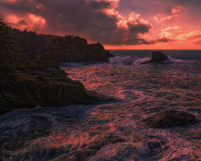 Photograph - Cape Flattery by Thomas Hall