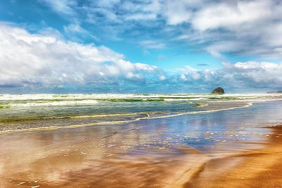 Cape Kiwanda Beach Art Print