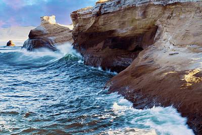 Photograph - Cape Kiwanda Oregon V4 by Rospotte Photography