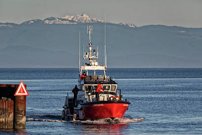 Photograph - Ccgs Cape Kuper by Randy Hall