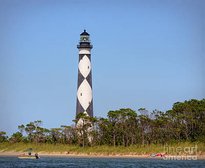Photograph - Cape Lookout Lighthouse - Cape Lookout North Carolina by Kerri Farley