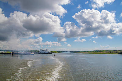 Photograph - Cape May Canal And Ferry by Bill Cannon