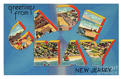 Photograph - Cape May Greetings - Version 2 by Mark Miller