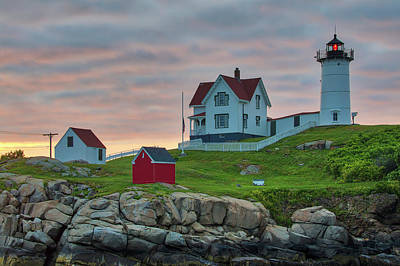 Photograph - Cape Neddick Light Station by Juergen Roth