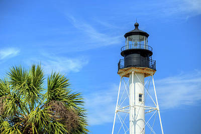 Photograph - Cape San Blas Lighthouse by JC Findley