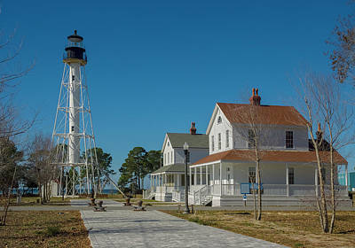 Photograph - Cape San Blas Lighthouse by Matthew Irvin