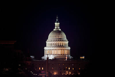 Photograph - Capitol Building by Travis Rogers